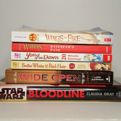 October in books - A small potion of the books I read this month.