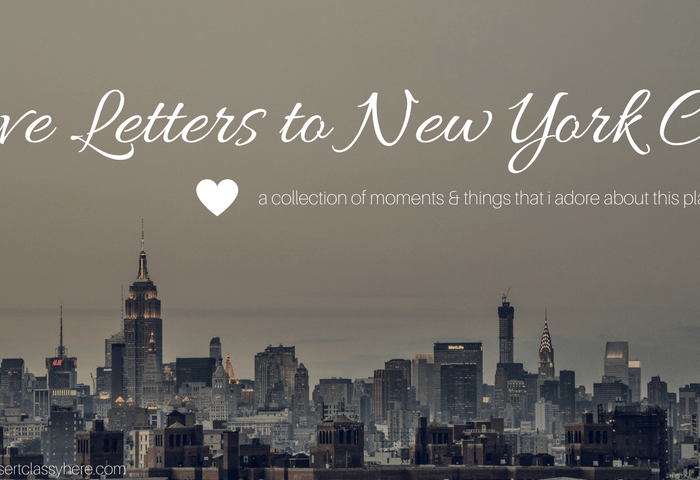 Love Letters to New York City