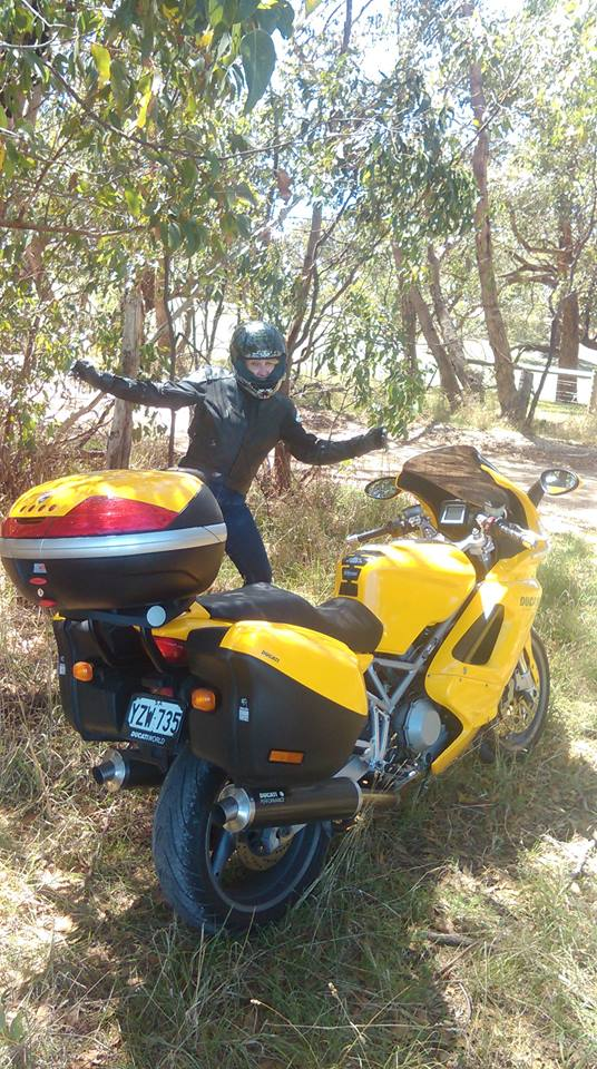 The Ducati and Me