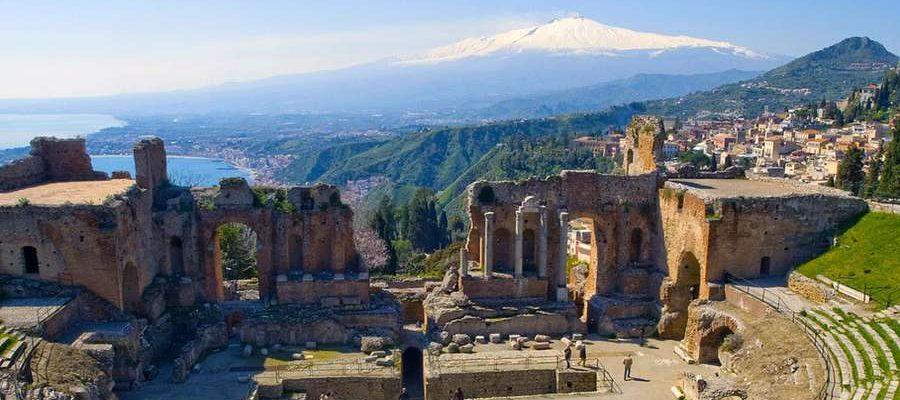 tour sicilia, taormina teatro