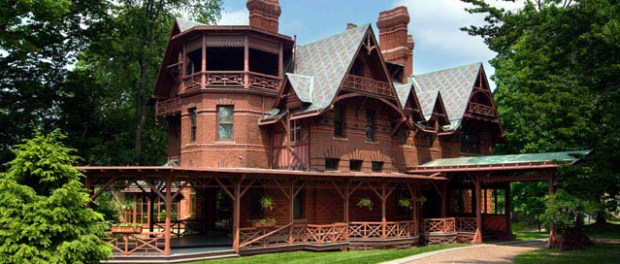 Das Twain House in Hartford. Foto: John Groo for The Mark Twain House & Museum
