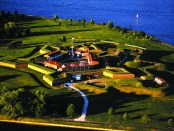 Fort McHenry aus der Luft. - Foto: Classen Communication