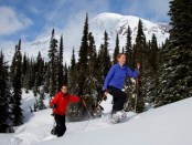 Wintersport am Mount Rainier. - Foto: Visit Rainier