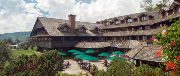 Mitten in den Green Mountains - Die Trapp Family Lodge in Stowe, Vermont. - Foto: Trapp Family Lodge