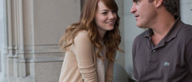 Emma Stone und Joaquin Phoenix in Woody Allens 'Irrational Man'. - Foto: 2015 Warner Bros. Entertainment Inc.