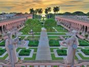 Ringling Courtyard. - Photo Courtesy of The Ringling