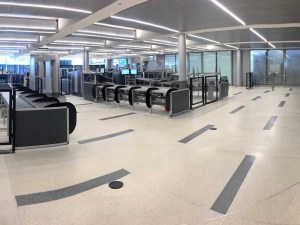Automated Screening Lines am Flughafen O'Hare in Chicago. - Foto: United Airlines