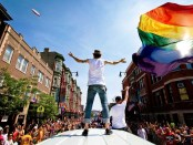 Gay Pride Parade in Chicago. - Foto: Fremdenverkehrsbüro Illinois