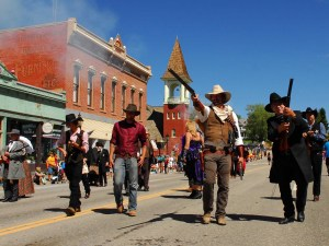 Leadville Gunfight während der Boom Days. - Foto: Steve Sunday
