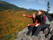 Kurze Pause an der Pinkham Notch in New Hampshire. - Foto: Appalachian Mountain Club