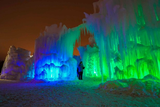 Ice Castles in Midway. - Foto: Midway Ice Castles/Utah Office of Tourism