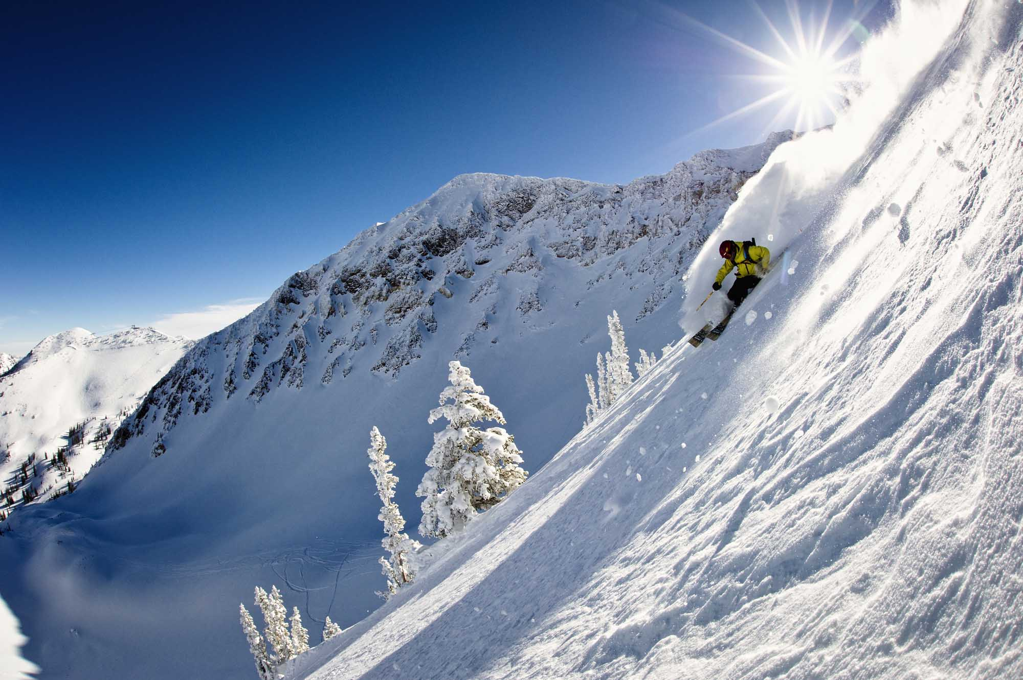 Skifahren in Snowbird. – Foto: Garrett Grove/Utah Office of Tourism