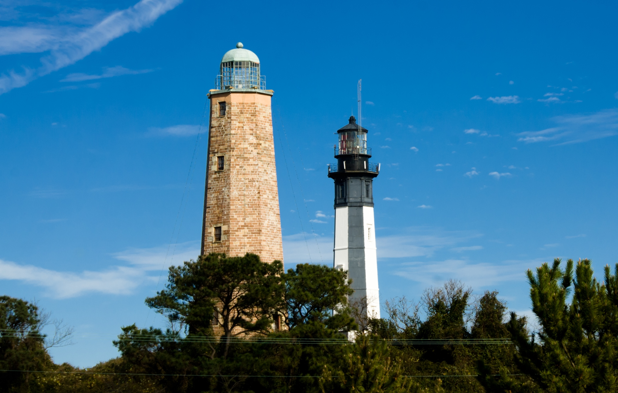 Old and New Cape Henry Lighthouses. – Foto: Visit Virginia Beach