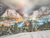 Ouray im Winter. - Foto: Bryce Bradford