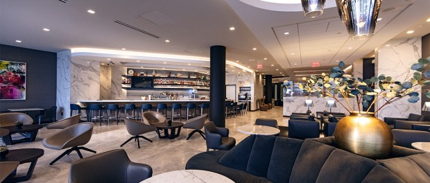 Die United Polaris Lounge im Los Angeles International Airport (LAX). - Foto: Untied Airlines