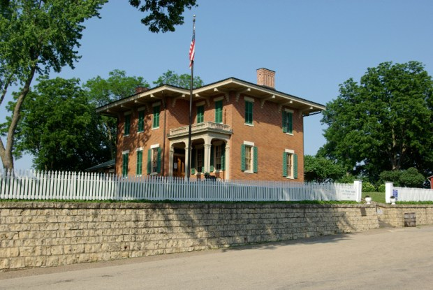 Auf Erkundungstour in Galena - das Haus Ulysses S. Grant. - Foto: Great River Road
