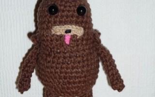 Crochet pattern pedobear