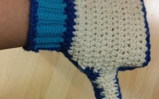 crochet glove dislike facebook