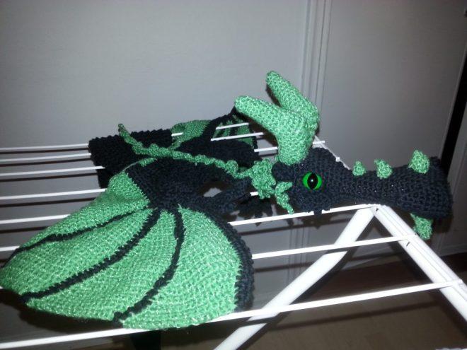 Kralkatorrik dragon's scarf crochet