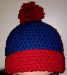 Crochet south park stan beanie