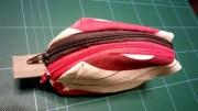 Couture #10 : Pochette à deux fermetures Éclair