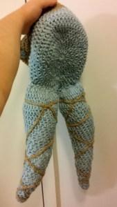 Crochet star wars bonnet twi'lek