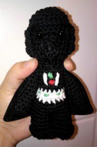 crochet amigurumi mini dark vador