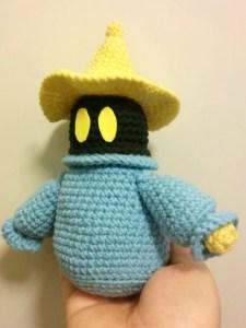 amigurumi black mage final fantasy crochet