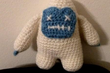 Amigurumi crochet Yeti