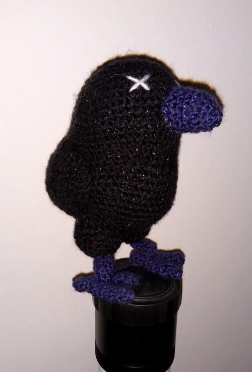 Crochet corbeau amigurumi
