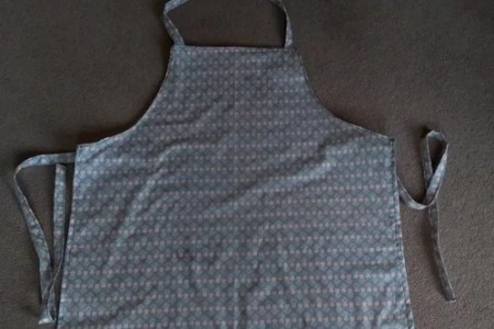Quick sew of an apron