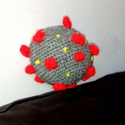 crochet coronavirus sars-cov-2 covid19