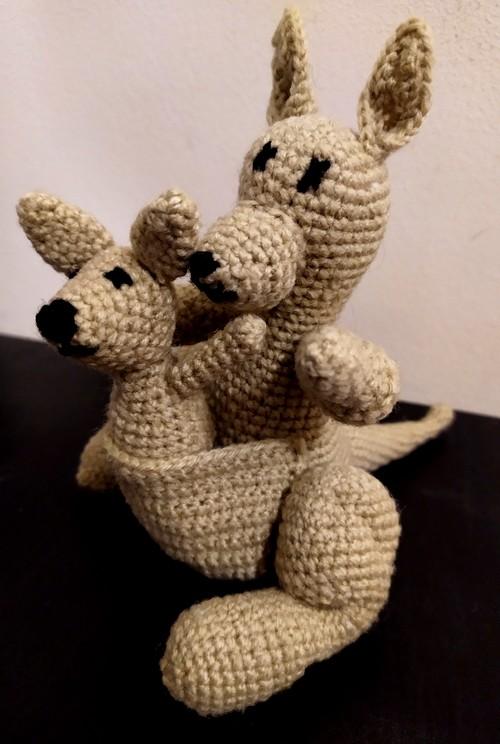 kangaroo crochet aldi kit