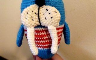 crochet morse amigurumi