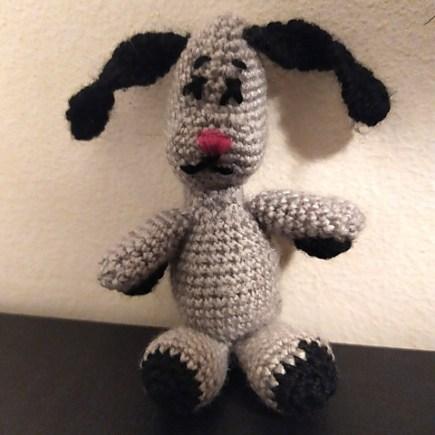 amigurumi crochet sweep du The Sooty Show.