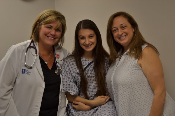 Niles teen gets her life back