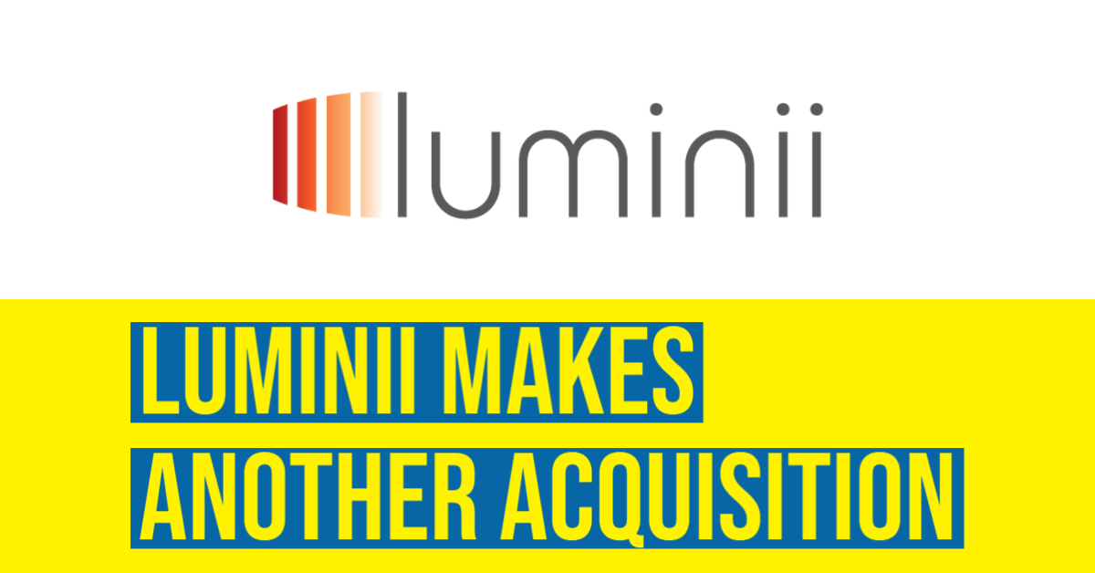 luminii makes another acquistion
