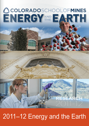 Energy and the Earth Research Magazine Cover 2011-2012