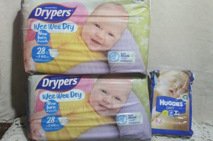 Newborn pampers