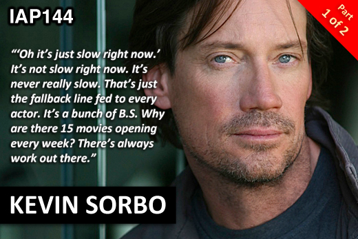 EPISODE 144: KEVIN SORBO (PART 1)