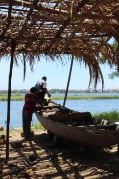 Boat builders in Hoi An
