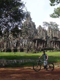 Exploring Angkor by bike