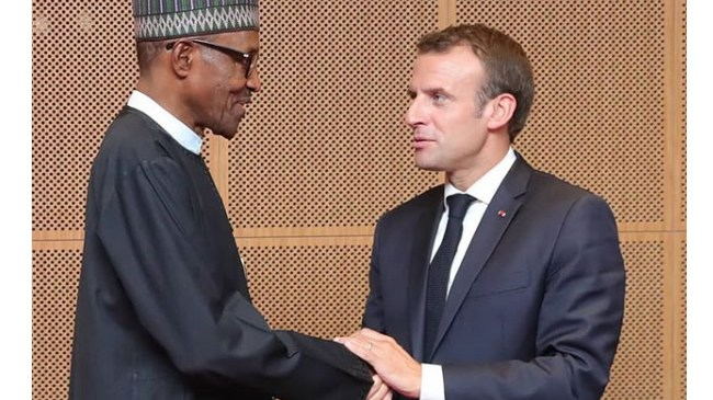 TEF Hosts Macron, 2,000 Young African Entrepreneurs