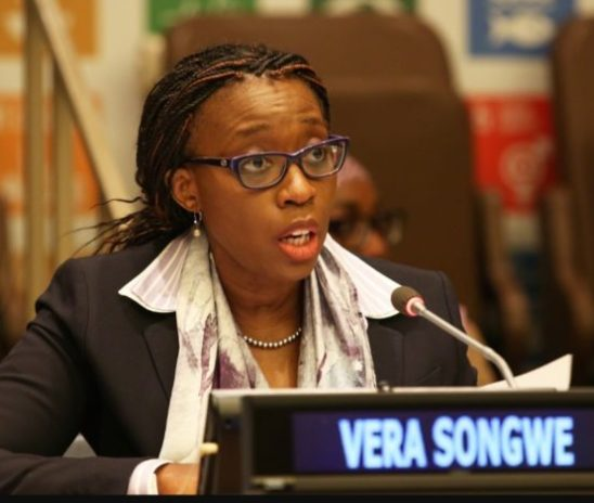In Nouakchott, Economic Commission for Africa (ECA)'s Vera Songwe congratulates Mauritania on ratification of African Continental Free Trade Agreement (AfCFTA)
