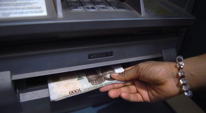 N39.15trn transactions made on ATM in Q4 2018