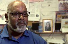 Vince Crittendon, custodian at Riverbend Elementary School