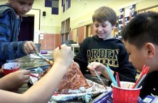 Young students in after-school S.T.A.R.T. program