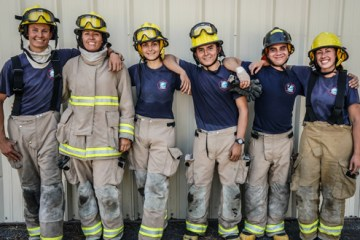 lake tahoe community college firefighter cadets