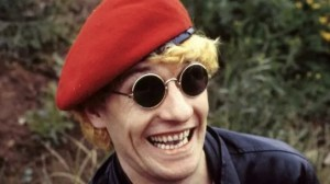 Get off your arses, Croydon! Captain Sensible has always been known for his happy, happy talk