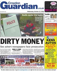 There will be no Croydon Guardian for at least two weeks